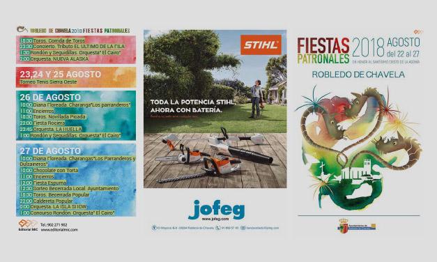 Cartel Fiestas Patronales 2018
