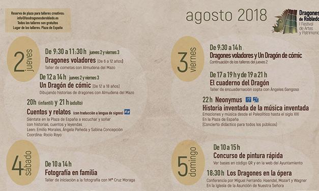 Cartel Festival Dragones programación