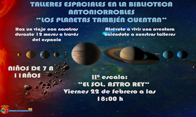 Cartel Talleres Astronomia