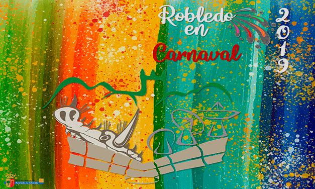 Cartel Robledo en Carnaval