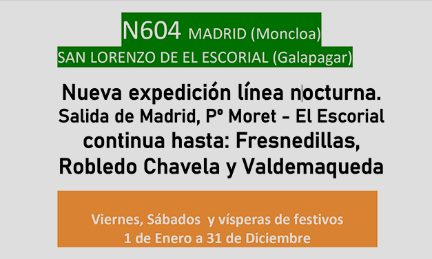 Buho y más expediciones a Madrid