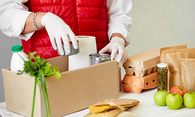 Ayuda a familias vulnerables con alimentos