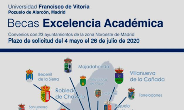 Becas excelencia académica Univ. Francisco de Vitoria