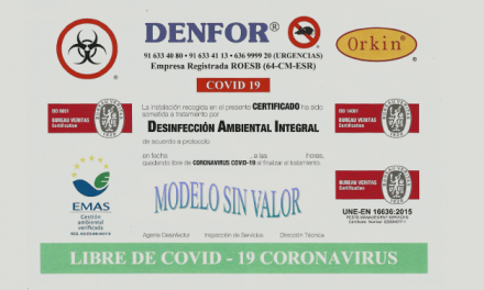 Nuevo servicio gratuito de desinfección locales comerciales