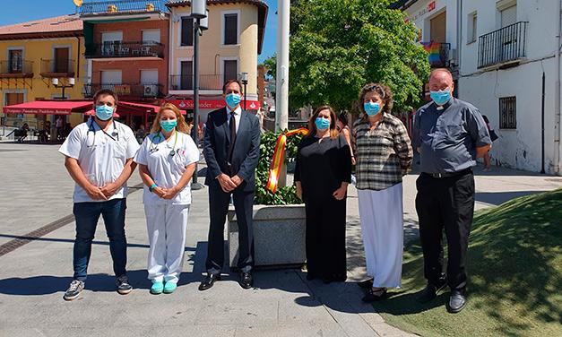 homenaje público víctimas del COVID