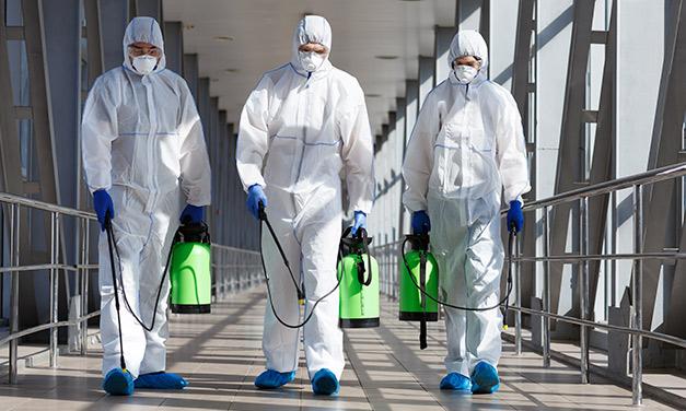 personal de desinfeccion