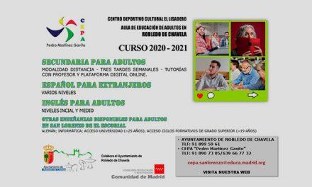 Educación  para Adultos curso 2020-2021