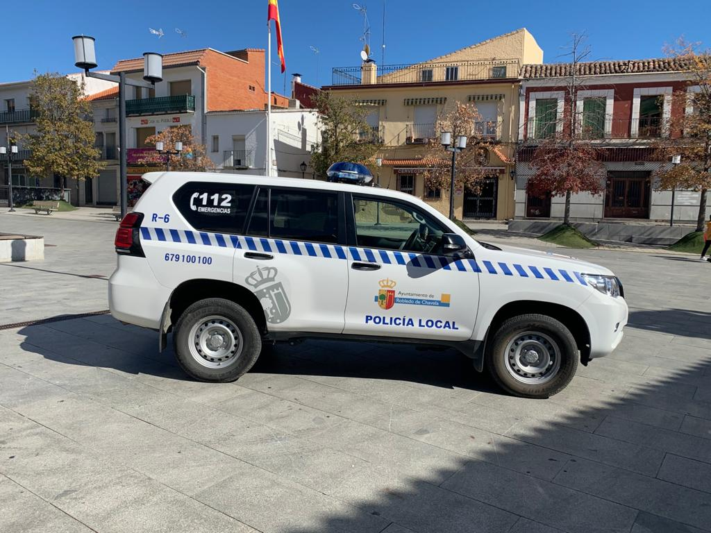 Nuevo vehículo Policía Local Robledo de Chavela