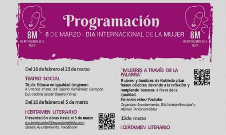 Día internacional de la mujer – actividades