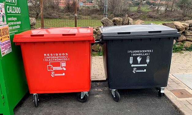 Nuevos contenedores reciclaje en Robledo de Chavela