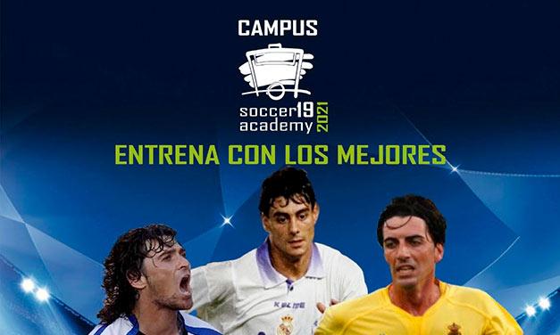 cartel del campus de verano 2021 en Robledo de Chavela