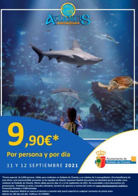 Dias Especiales en Zoo Aquarium, Faunia y Atlantis Aquarium de Madrid