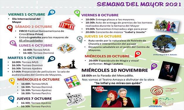 Robledo celebra el Día del Mayor con un programa cargado de actividades